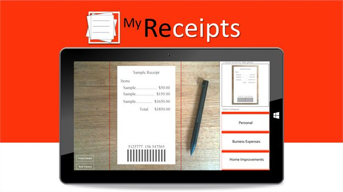 Get My Receipts - Microsoft Store