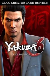 Yakuza 6: Song of Life Clan Creator Card Bundle