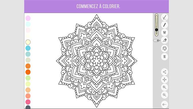 Coloriage Pour Adulte Ordinateur.Recevoir Zen Coloring Book For Adults Microsoft Store Fr Fr
