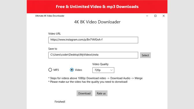 Get All Video Music Downloader : 1000 Sites Support