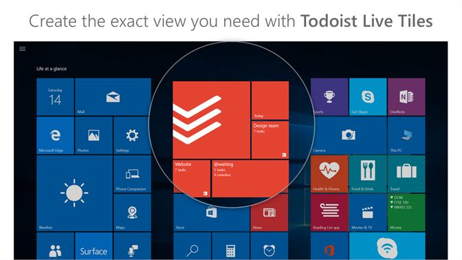 Get Todoist: To-Do List and Task Manager - Microsoft Store