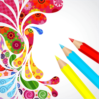 Coloring Book for Mandala - Adult Color Diary, Kids Color Book ...
