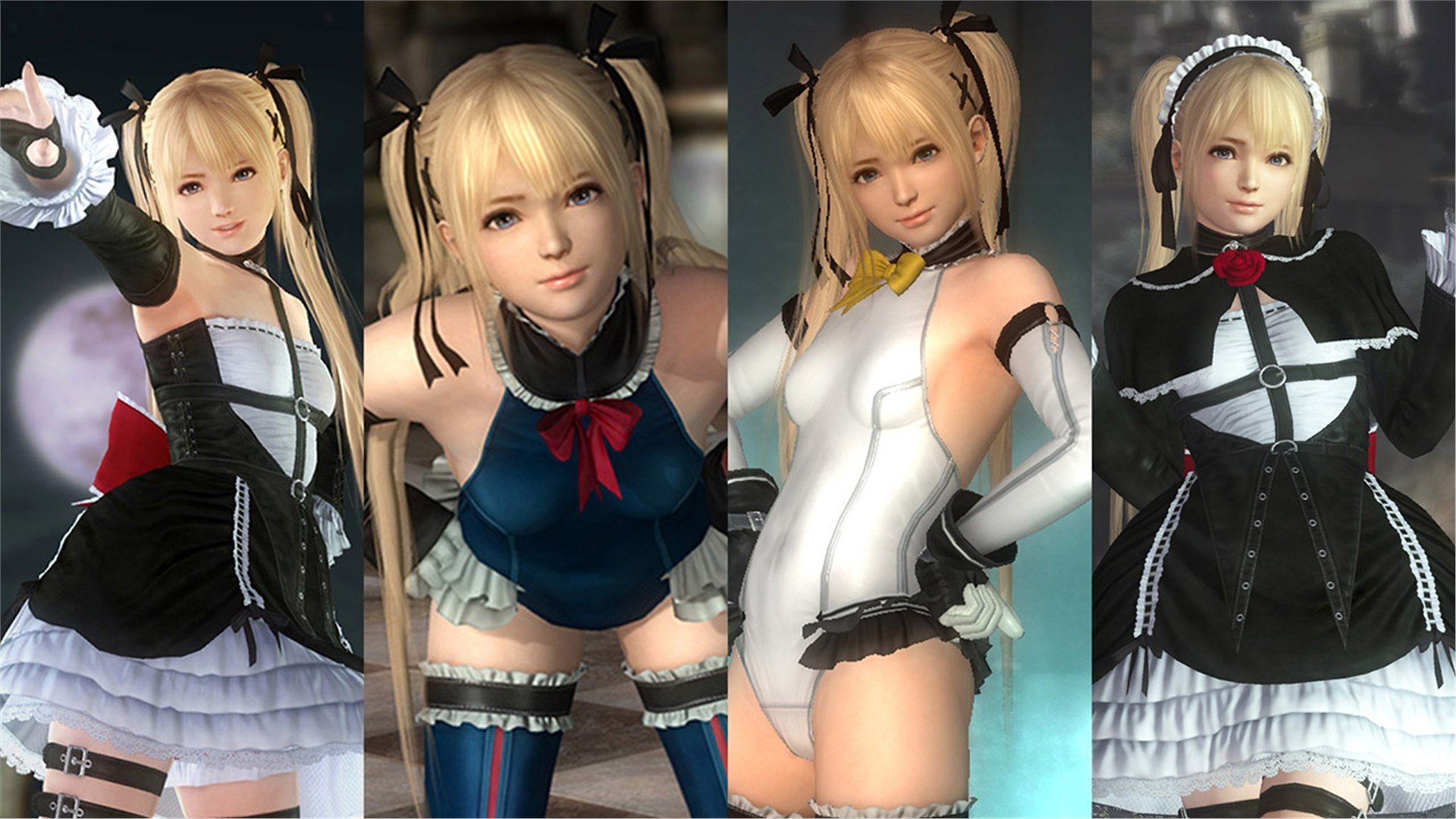 DEAD OR ALIVE 5 Last Round New Blood Character Set