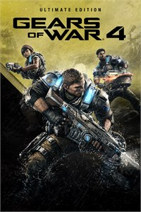 Carátula del juego Gears of War 4 Ultimate Edition