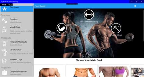 myWorkout - Fitness TrainingScreenshots 1