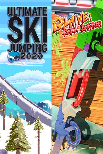 Ultimate Ski Jumping 2020 + Glaive: Brick Breaker Bundle