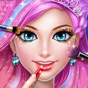 Mermaid Princess Makeup:Magic underwater games