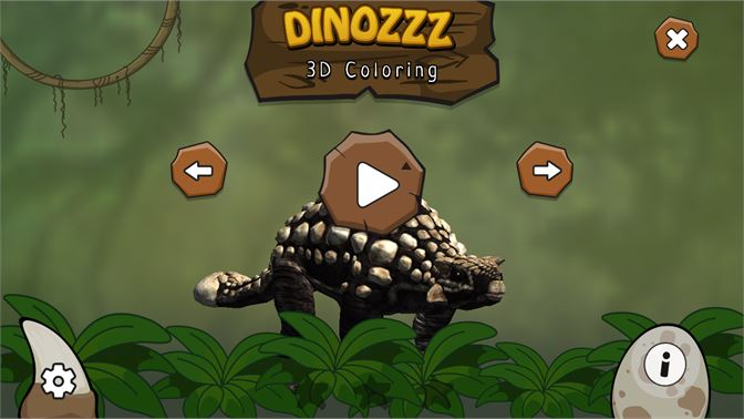 Get DINOZZZ - 3D Coloring - unique, interactive, animated full-3D
