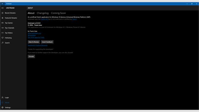 Get Unstream Microsoft Store