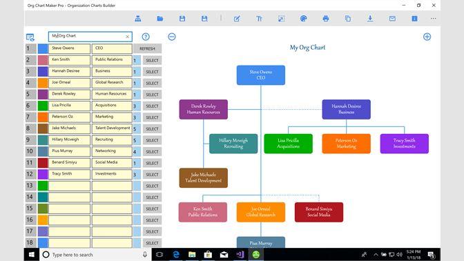 Buy org chart maker pro organization charts builder microsoft