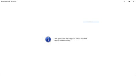Alienware TypeC accessory Screenshots 1