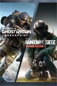 Pacote Tom Clancy's Rainbow Six Siege e Tom Clancy's Ghost Recon Breakpoint