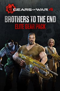 "Gears of War 4 ""Brothers to the End"" and Vintage Del Elite Gear Packs"