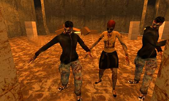 Blood Zombies Dead Target Killer screenshot 1