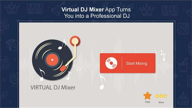 Get Virtual DJ Mixer : Mix and Record Music - Microsoft Store
