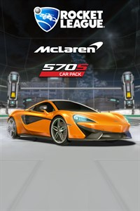 Carátula del juego Rocket League - McLaren 570S Car Pack