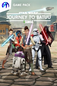 Carátula para el juego The Sims 4 Star Wars: Journey to Batuu Game Pack de Xbox 360