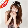 Cat Face Photo Stickers