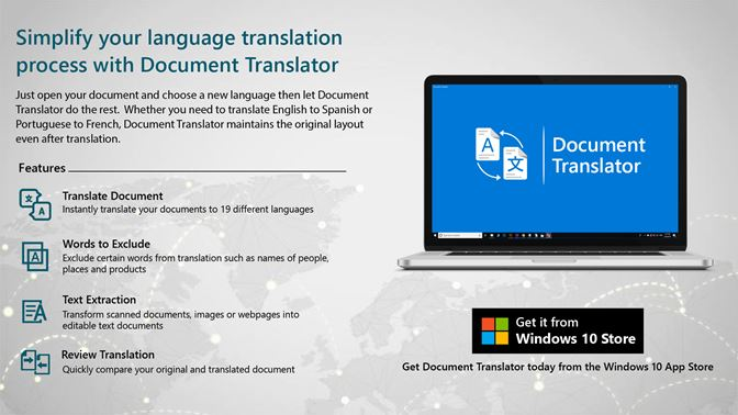 Get Document Translator - Microsoft Store