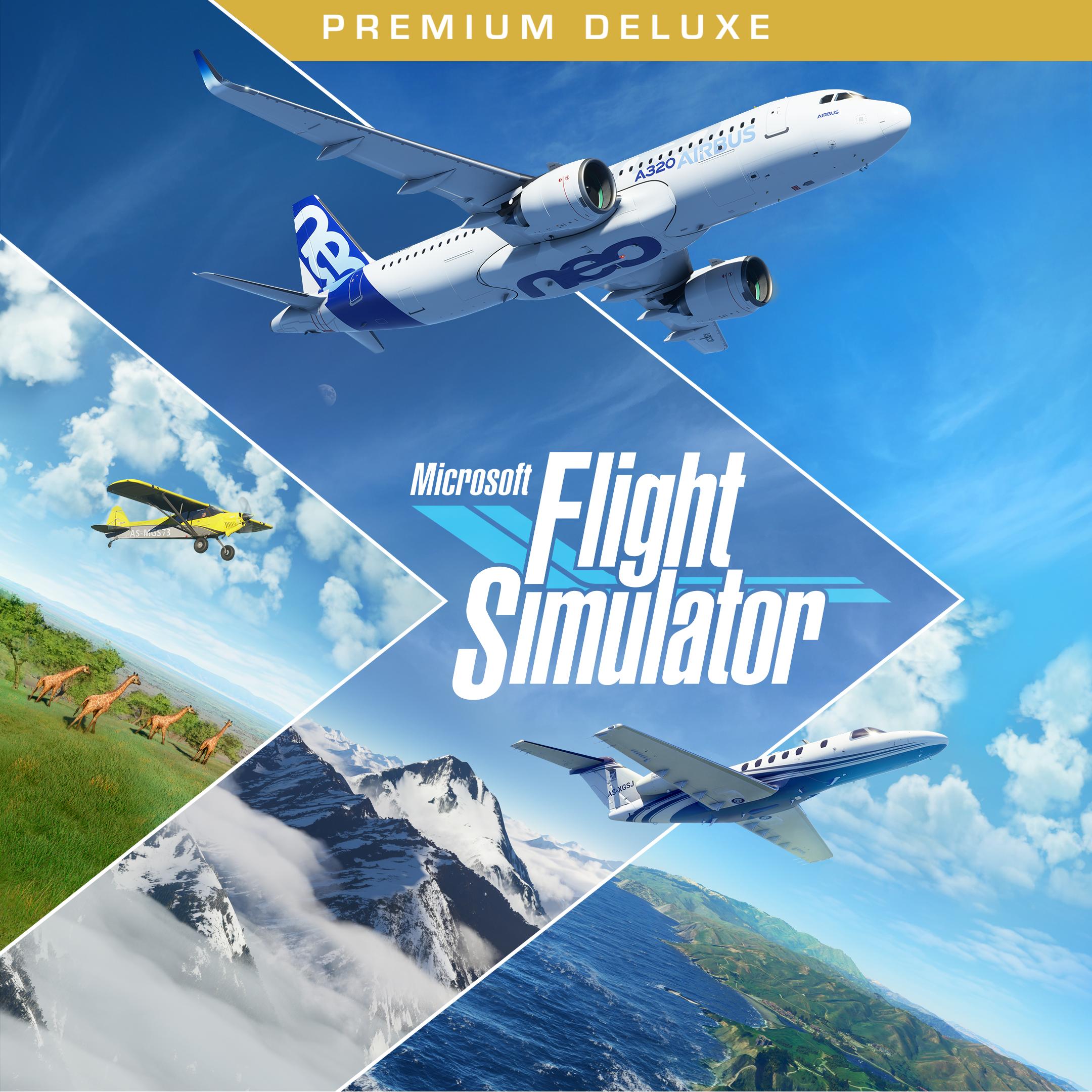 Buy Microsoft Flight Simulator Premium Edition for Xbox Series X|S
