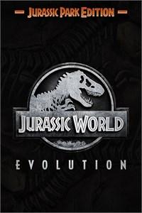 Carátula para el juego Jurassic World Evolution: Jurassic Park Edition de Xbox 360