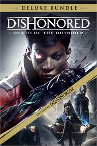 Carátula para el juego Dishonored: Death of the Outsider Deluxe Bundle de Xbox 360