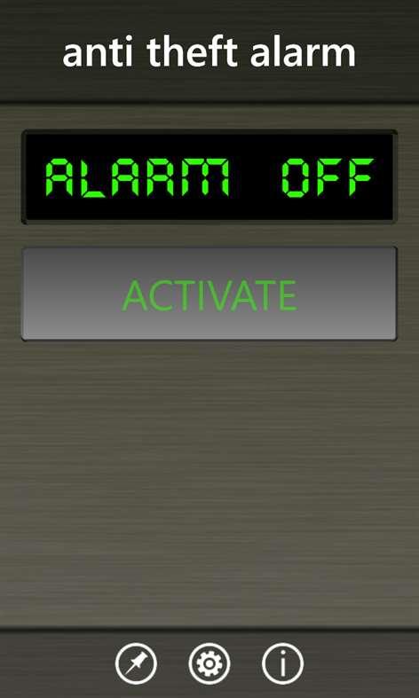 Anti Theft Alarm Screenshots 1