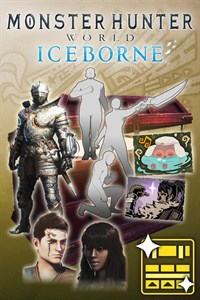 Carátula del juego Monster Hunter World: Iceborne Deluxe Kit