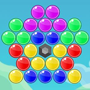 Dino Bubbles Game