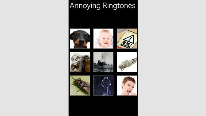 Get Annoying Ringtones - Microsoft Store