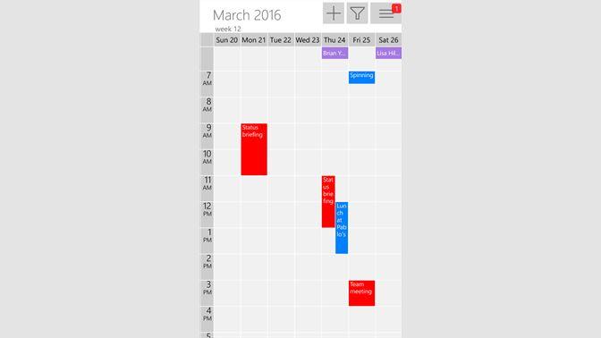 One Calendar.Get One Calendar Microsoft Store