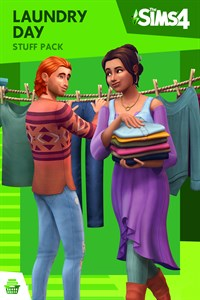 Carátula del juego The Sims 4 Laundry Day Stuff
