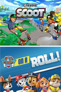 Paw Patrol: On a Roll and Crayola Scoot