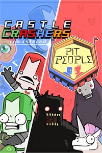 Carátula del juego Castle Crashers & Pit People Bundle