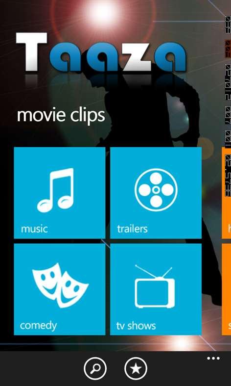 Taaza for Windows Phone full screenshot
