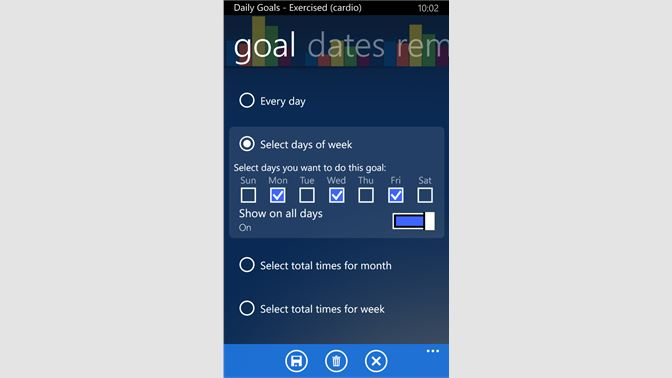 Buy Daily Goals - Microsoft Store