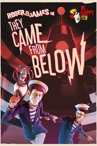 Carátula del juego We Happy Few - Roger & James in They Came From Below