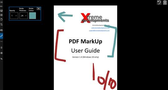 PDF Markup screenshot 4