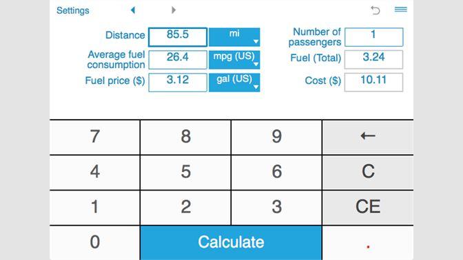 Fuel Cost Calculator >> Buy Trip Fuel Cost Calculator Microsoft Store