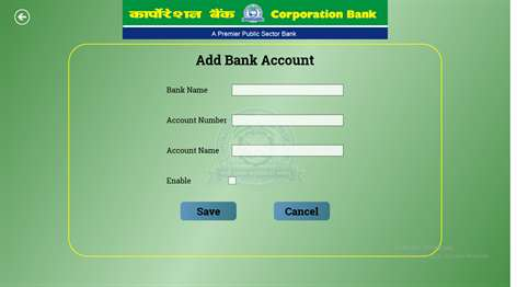 how to activate my internet banking in corporation bank