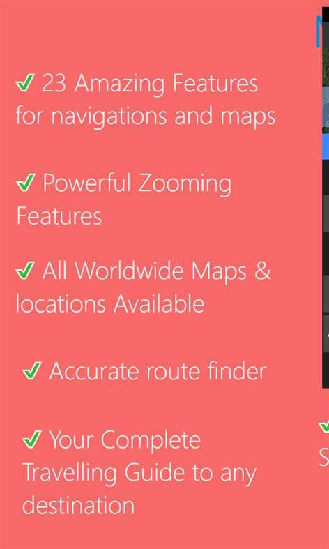 Maps for LUMIA - Premium Screenshots 2