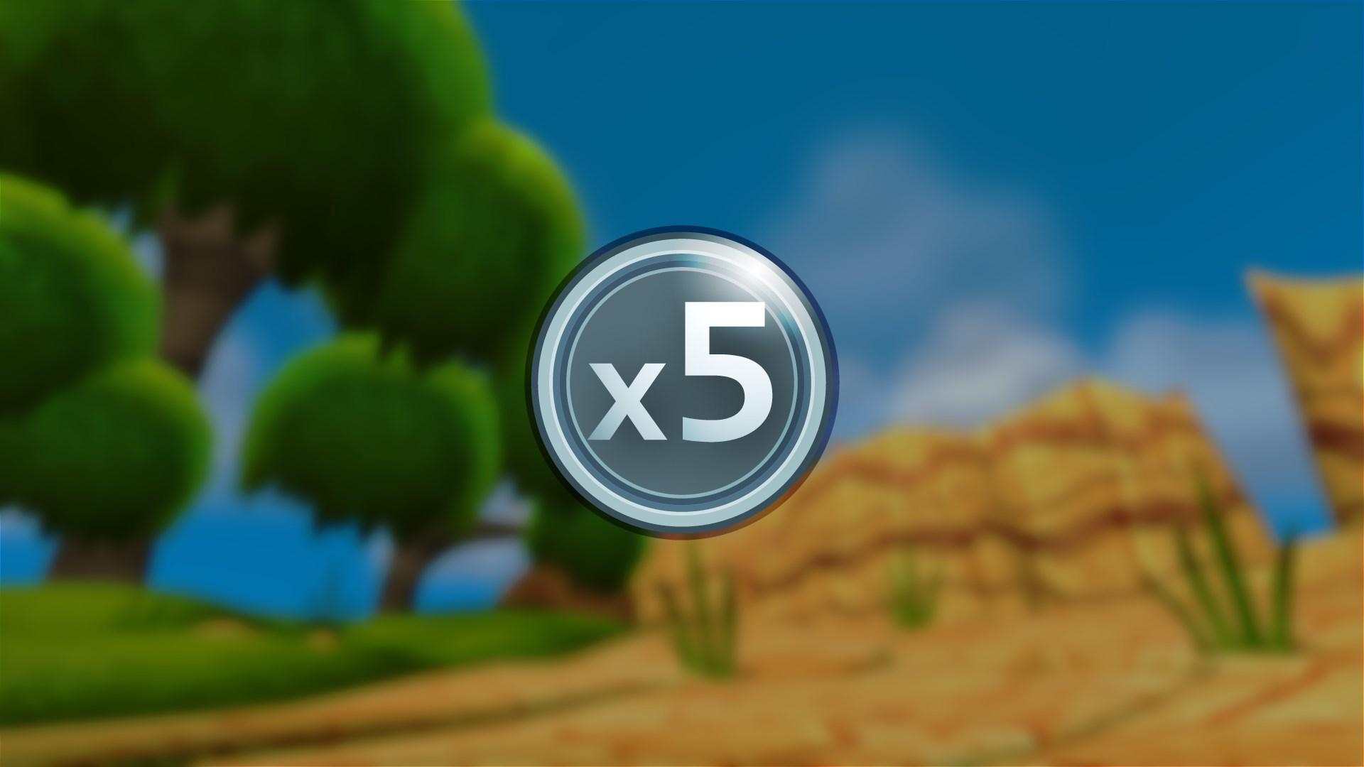 BEB: 5x-multiplikator