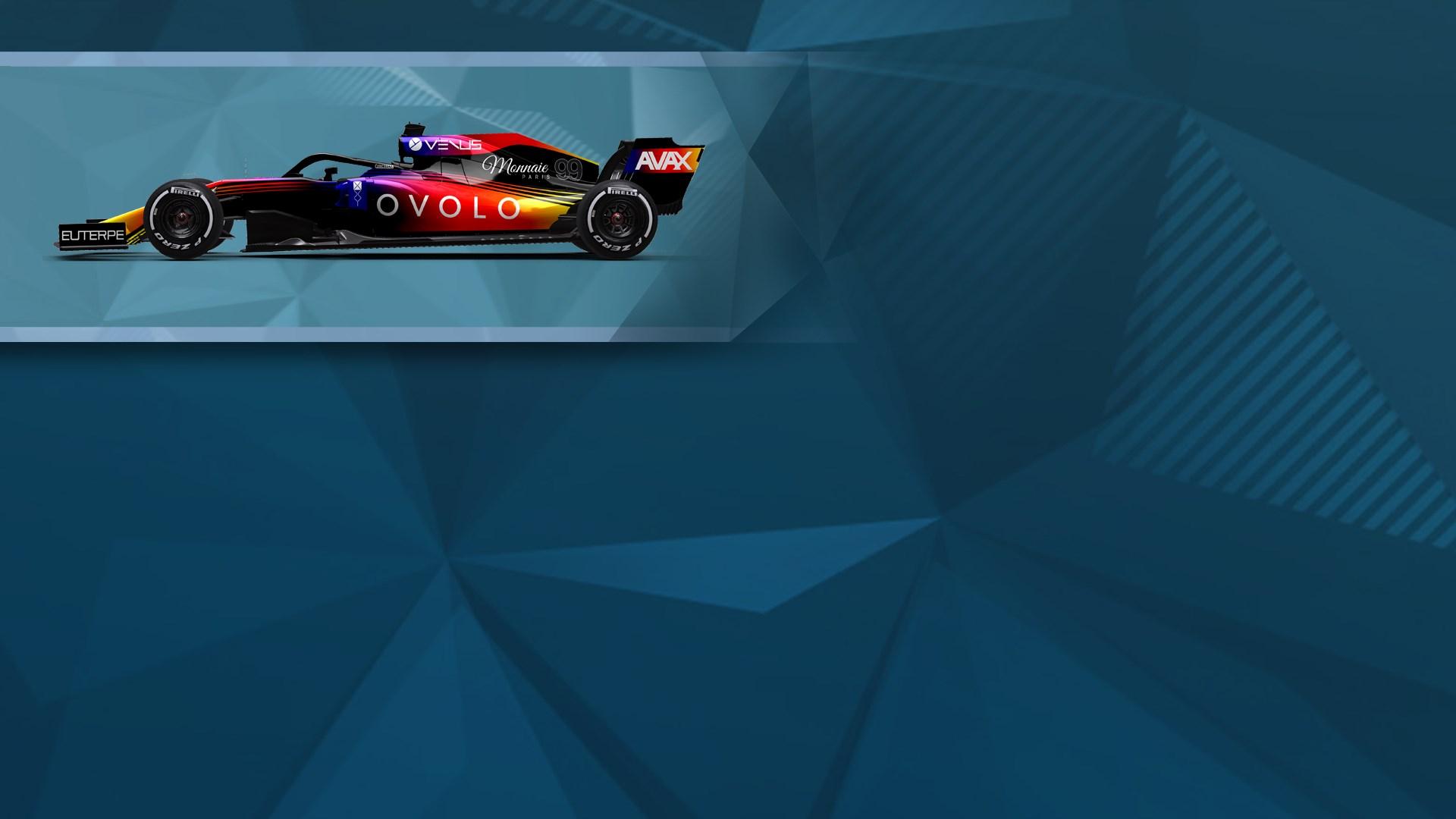 F1® 2019 WS: Car Livery 'OVOLO - Blur'