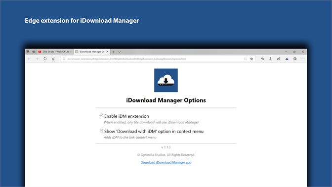 Get iDM Edge Extension - Microsoft Store