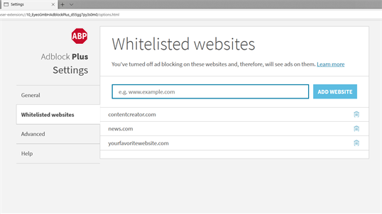 Adblock Plus (Beta) screenshot 5