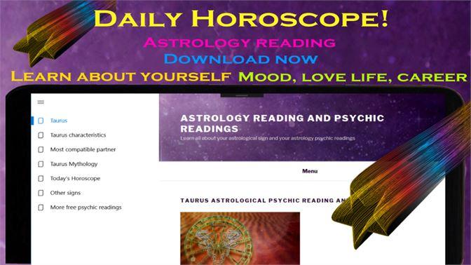 Get Taurus daily horoscope - Astrology psychic reading