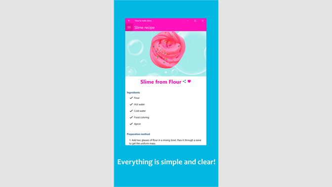 Get how to make a slime microsoft store screenshot screenshot screenshot screenshot screenshot ccuart Images