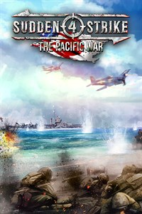 Carátula del juego Sudden Strike 4: The Pacific War