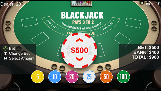 BlackJack X screenshot 2