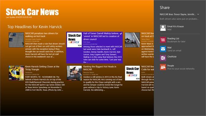 Get Stock Car News - Microsoft Store